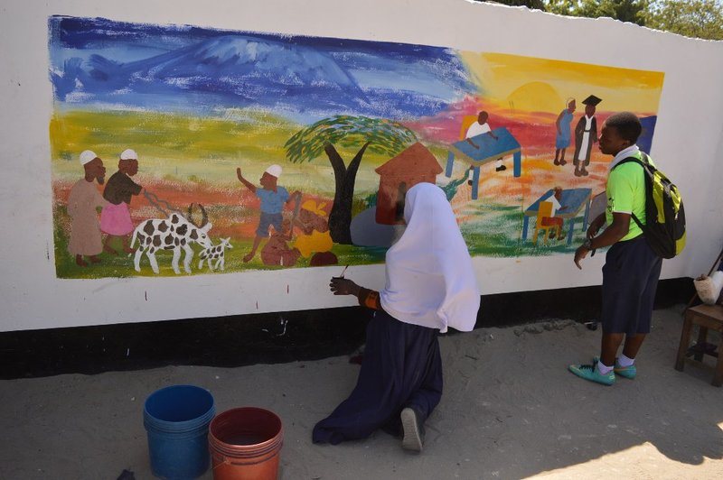 #WallsCANBloom Tanzania