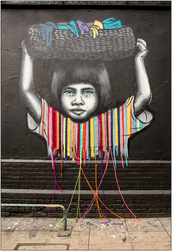 Child Labour Free Street Art