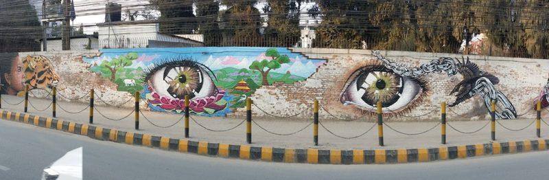 Wall of Hope: Eyes
