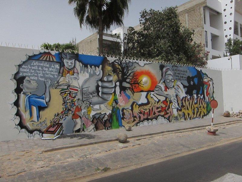 #WallsCANBloom Senegal