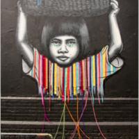 Child Labour Free Street Art