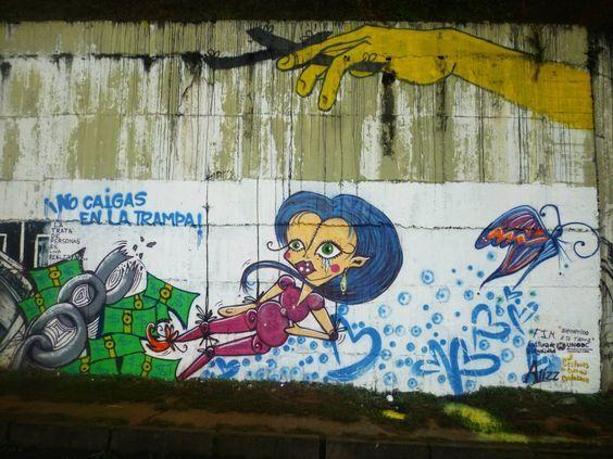 Student Art Against Human Trafficking - Pereira