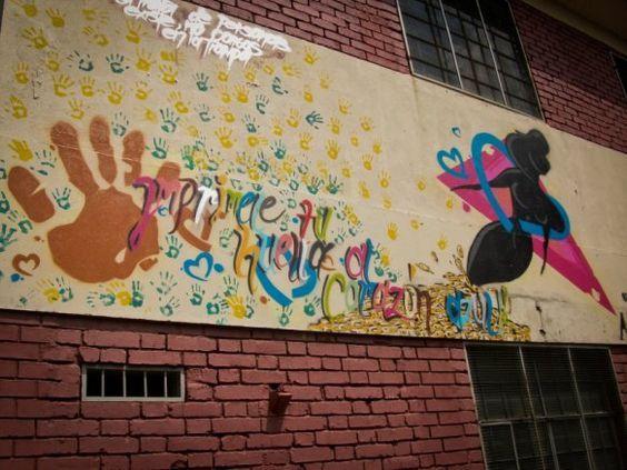 Student Art Against Human Trafficking - Cali