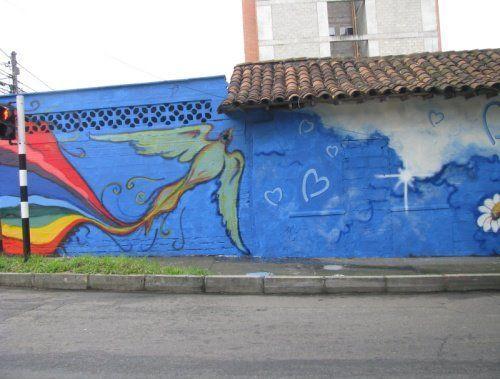 Student Art Against Human Trafficking - Medellin 1