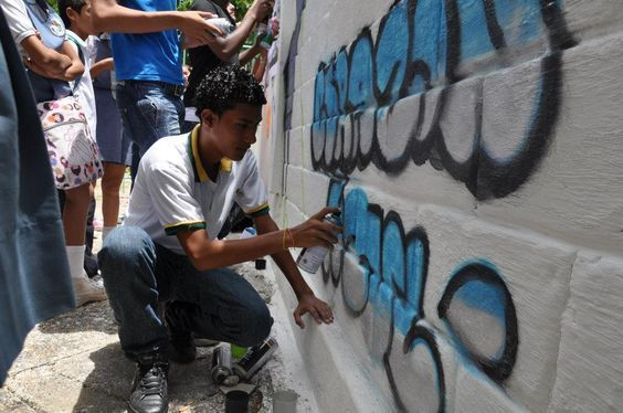 Student Art Against Human Trafficking - Cartagena