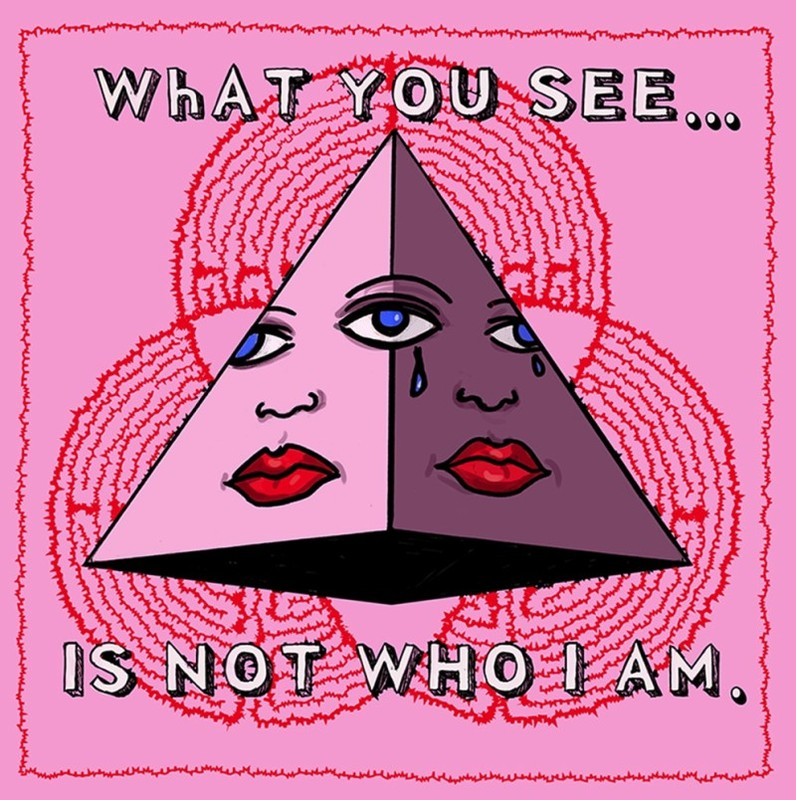 What You See Is Not Who I Am 2