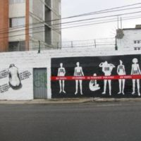 Student Art Against Human Trafficking - Medellin 2